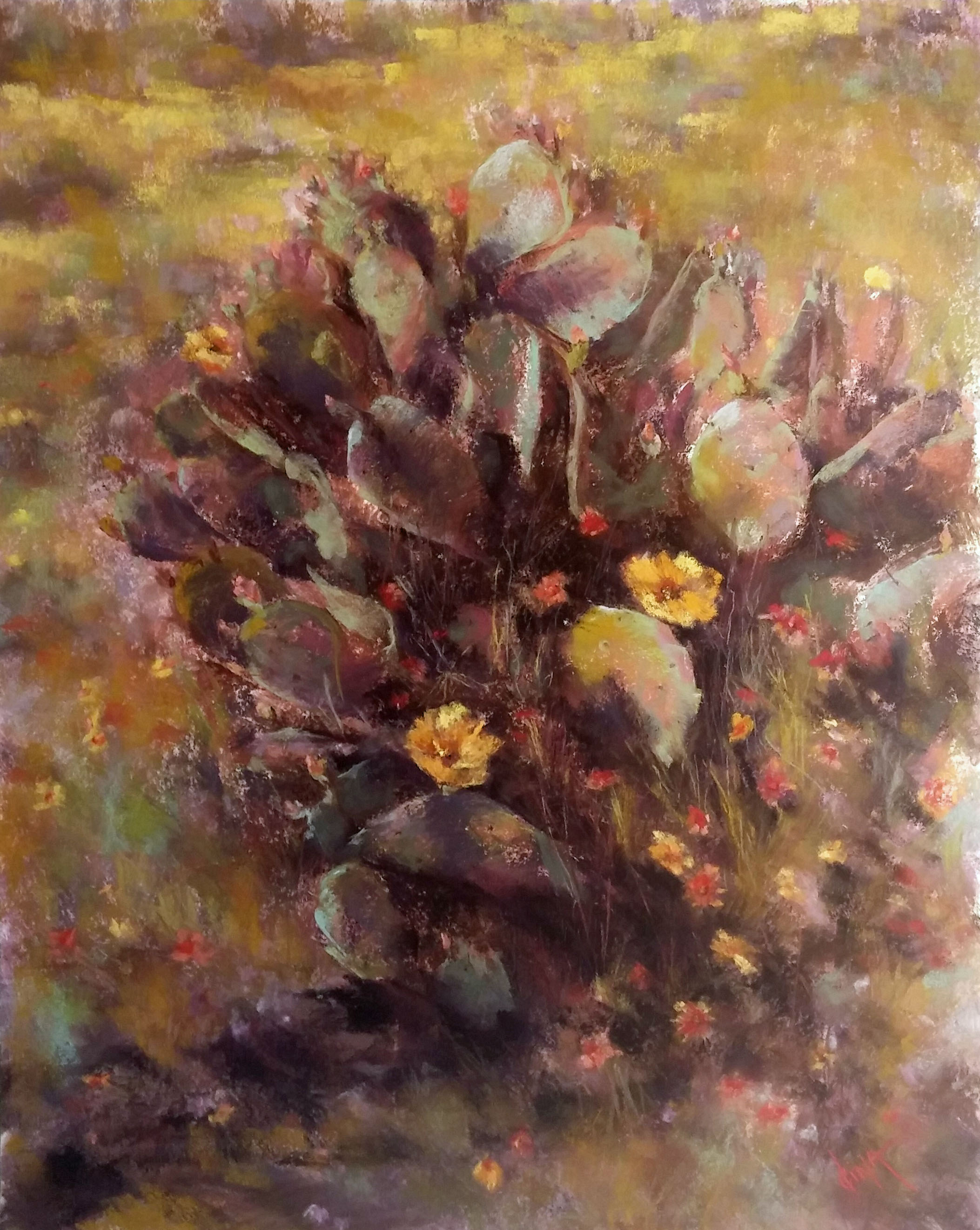 In th Garden by Mrs Dina Gregory - Masterpiece Online
