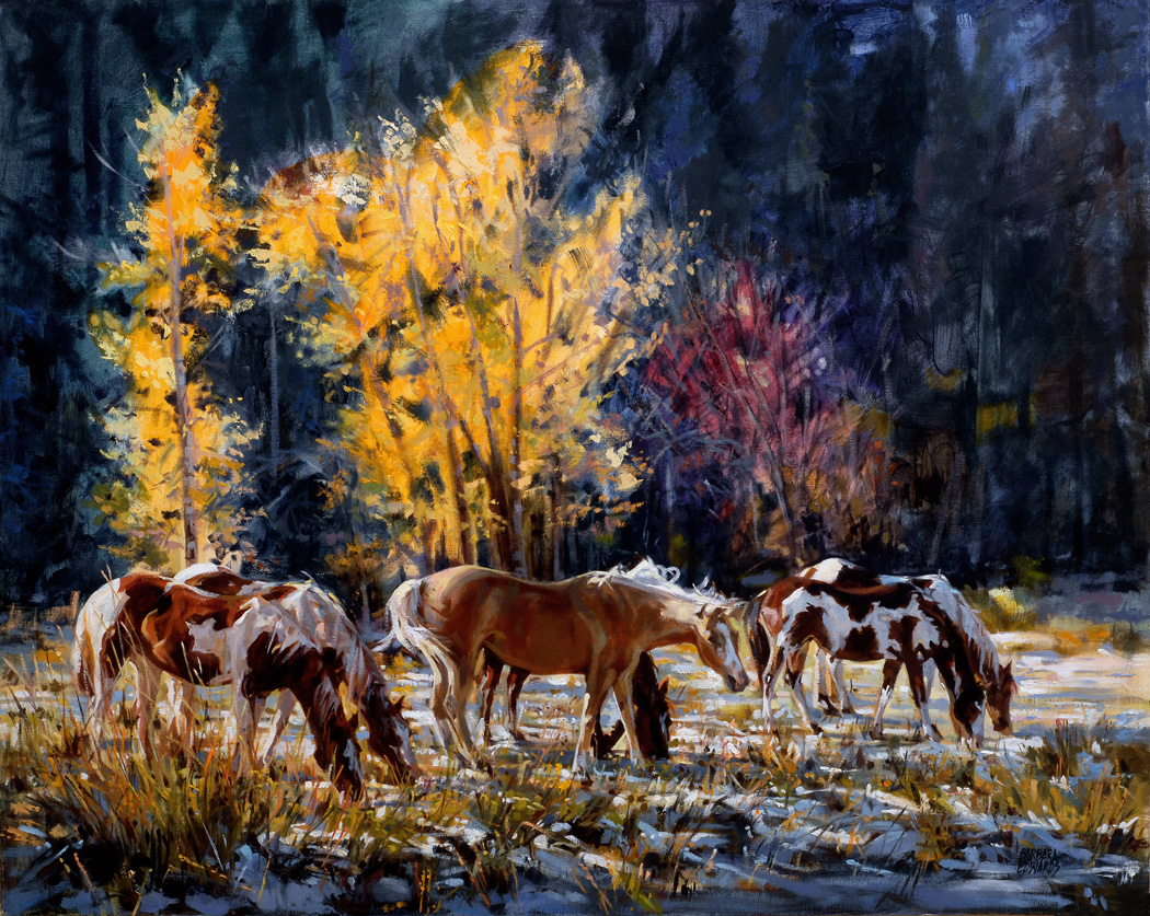 SOLD- Early Snow by  Barbara Summers Edwards - Masterpiece Online