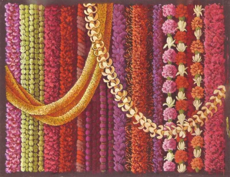 Multiple Leis by  Shelley S. M. Miller - Masterpiece Online