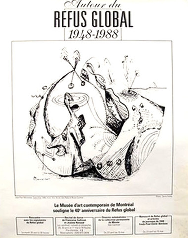 Autour du refus globa... by  Jean-Paul Mousseau (after) - Masterpiece Online