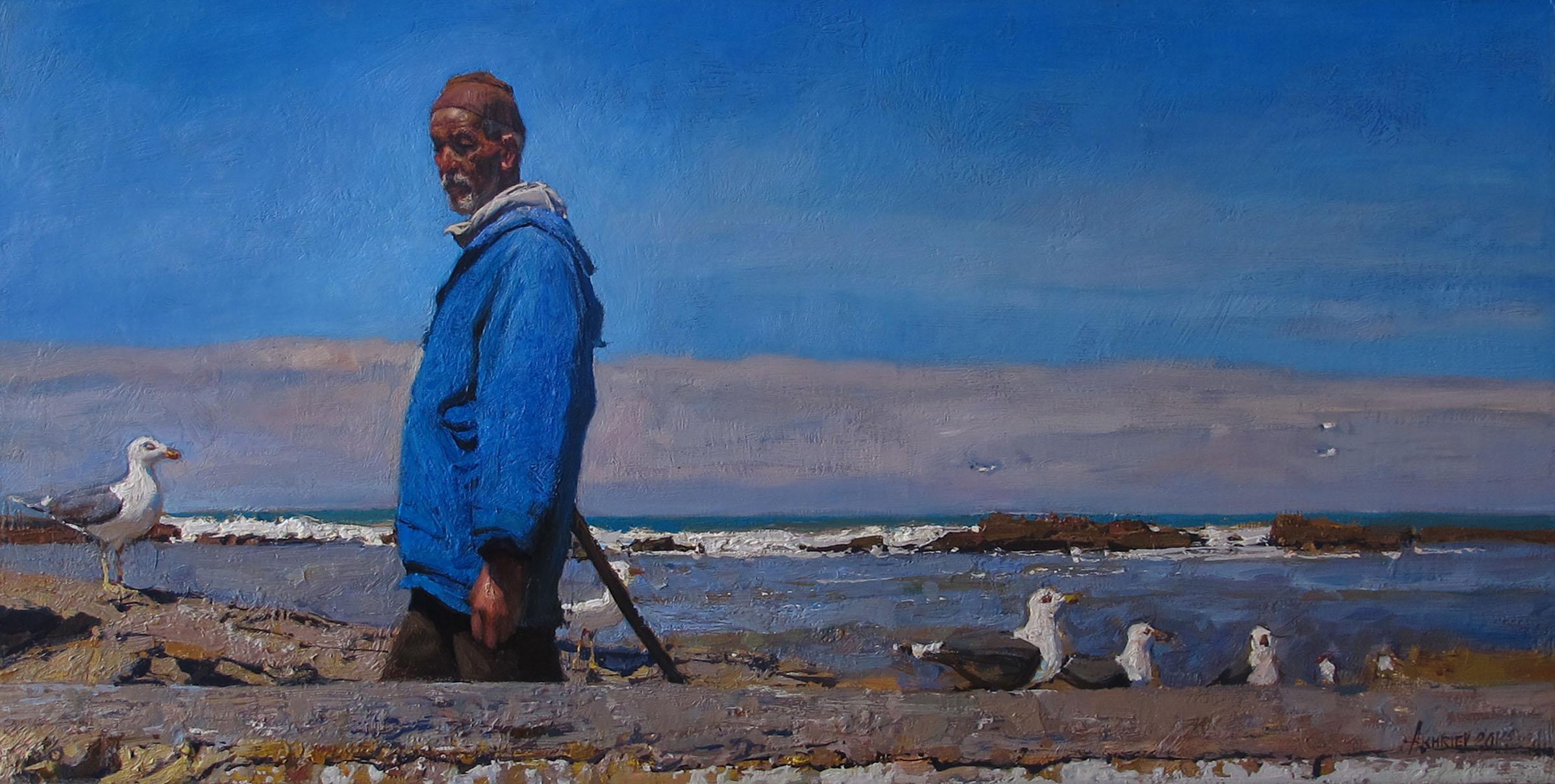 Sentries of the Harbor by  Daud Akhriev - Masterpiece Online