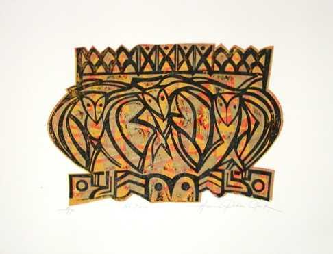 Na Pueo 3 by  Herman Pi'ikea Clark - Masterpiece Online