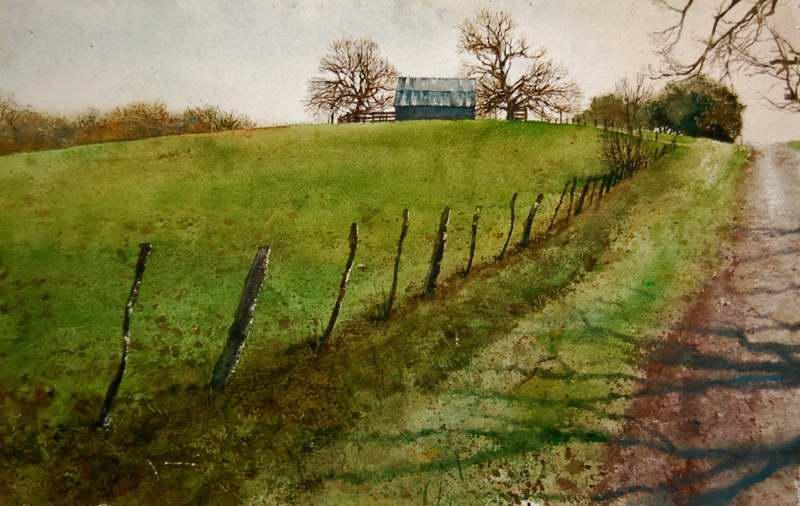 Spring Hill by Mr Mark Stewart - Masterpiece Online