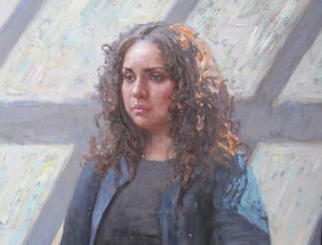 Alexandra Sunlit by  Daud Akhriev - Masterpiece Online