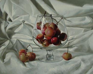 Cherry  Brandy by  Alexei Antonov - Masterpiece Online