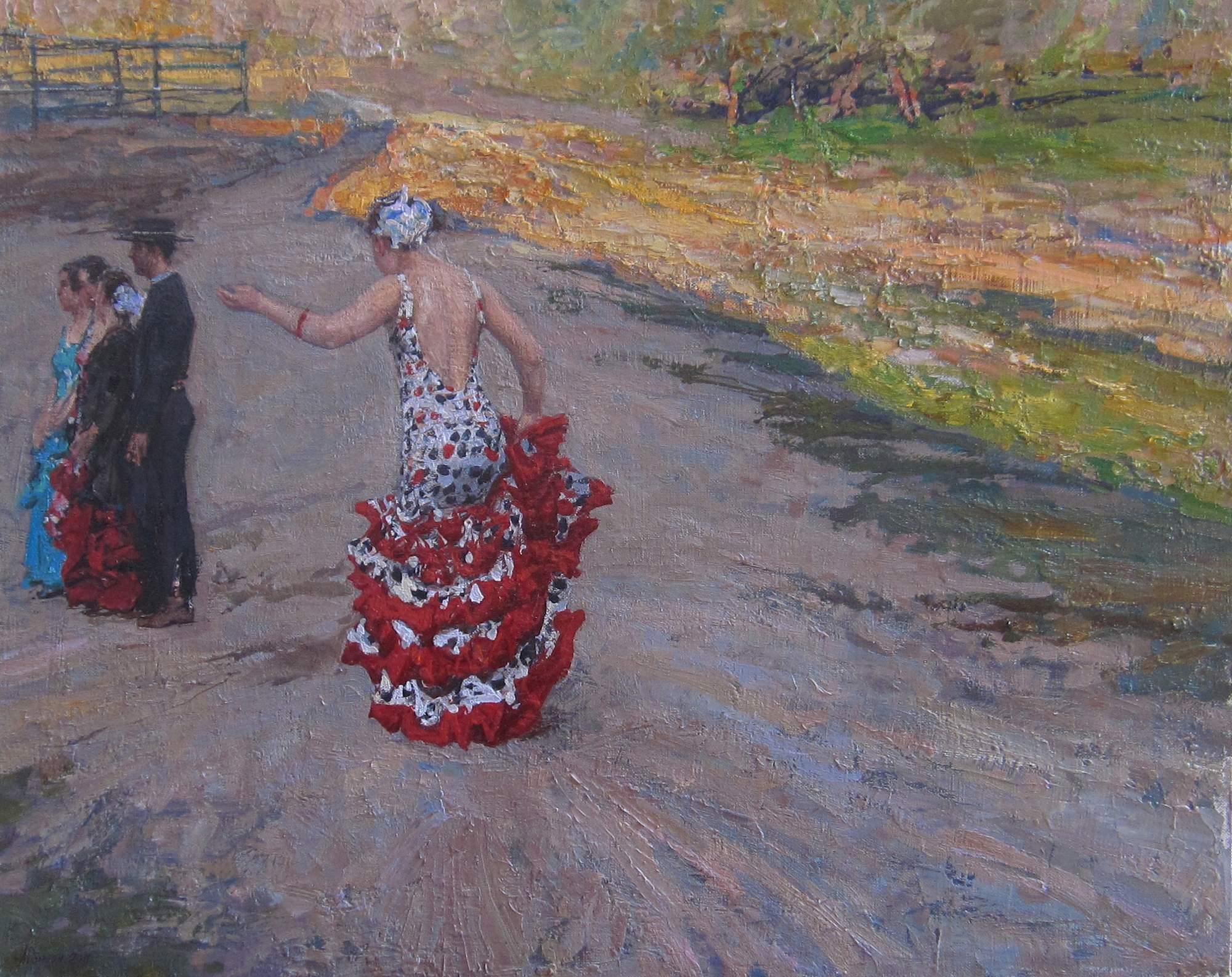 Catching Up by  Daud Akhriev - Masterpiece Online