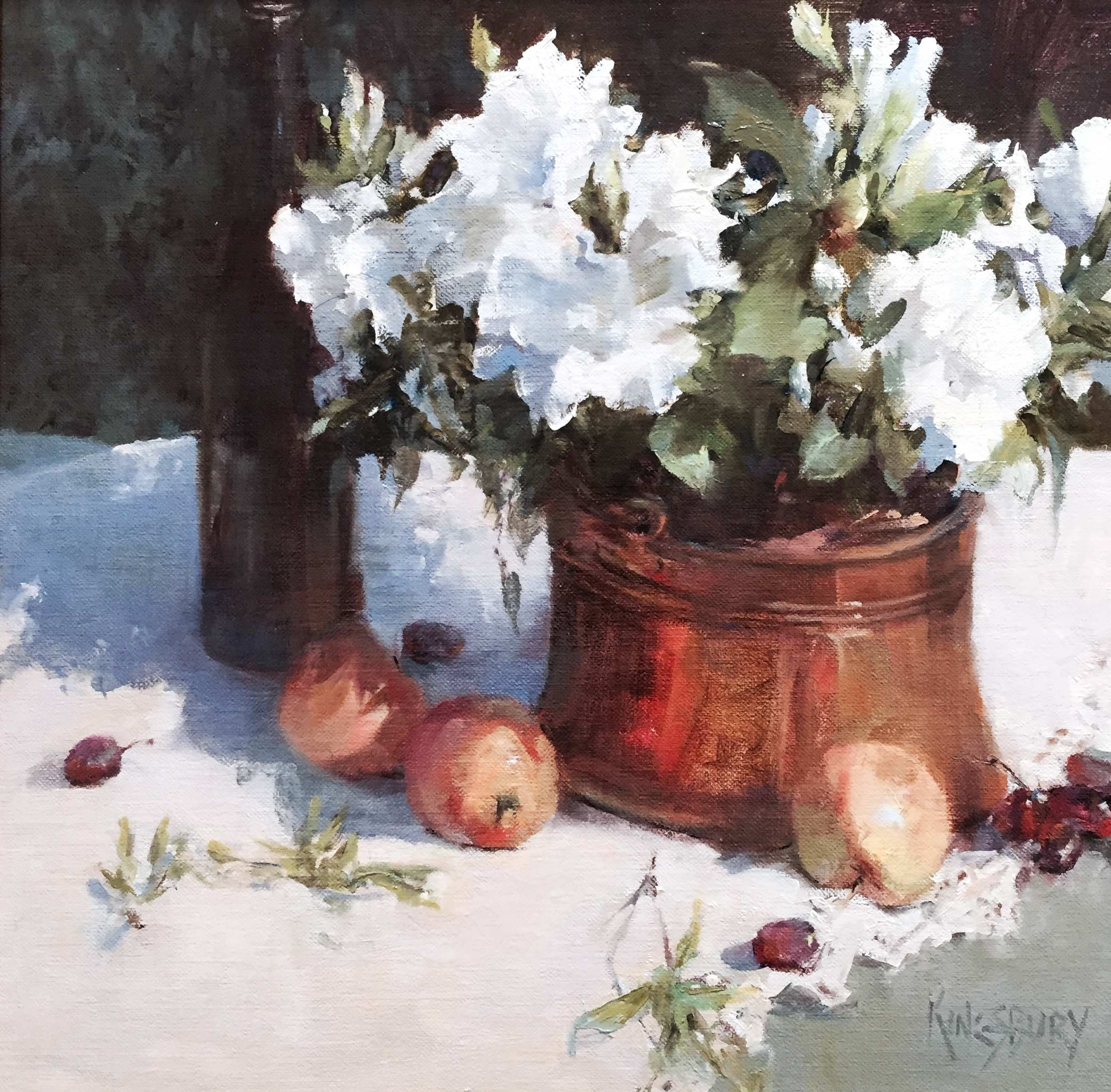 April Flowers and May... by Ms Peggy Kingsbury - Masterpiece Online