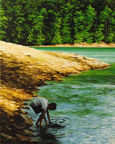 Rock Skipper by   Teresa  Wheeler - Masterpiece Online