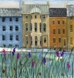 DP-ROW HOUSES IN SPRI... by  P. Buckley Moss  - Masterpiece Online