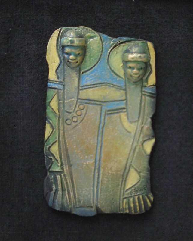 Ceramic Relief 7 by Mr. Everard Powell - Masterpiece Online