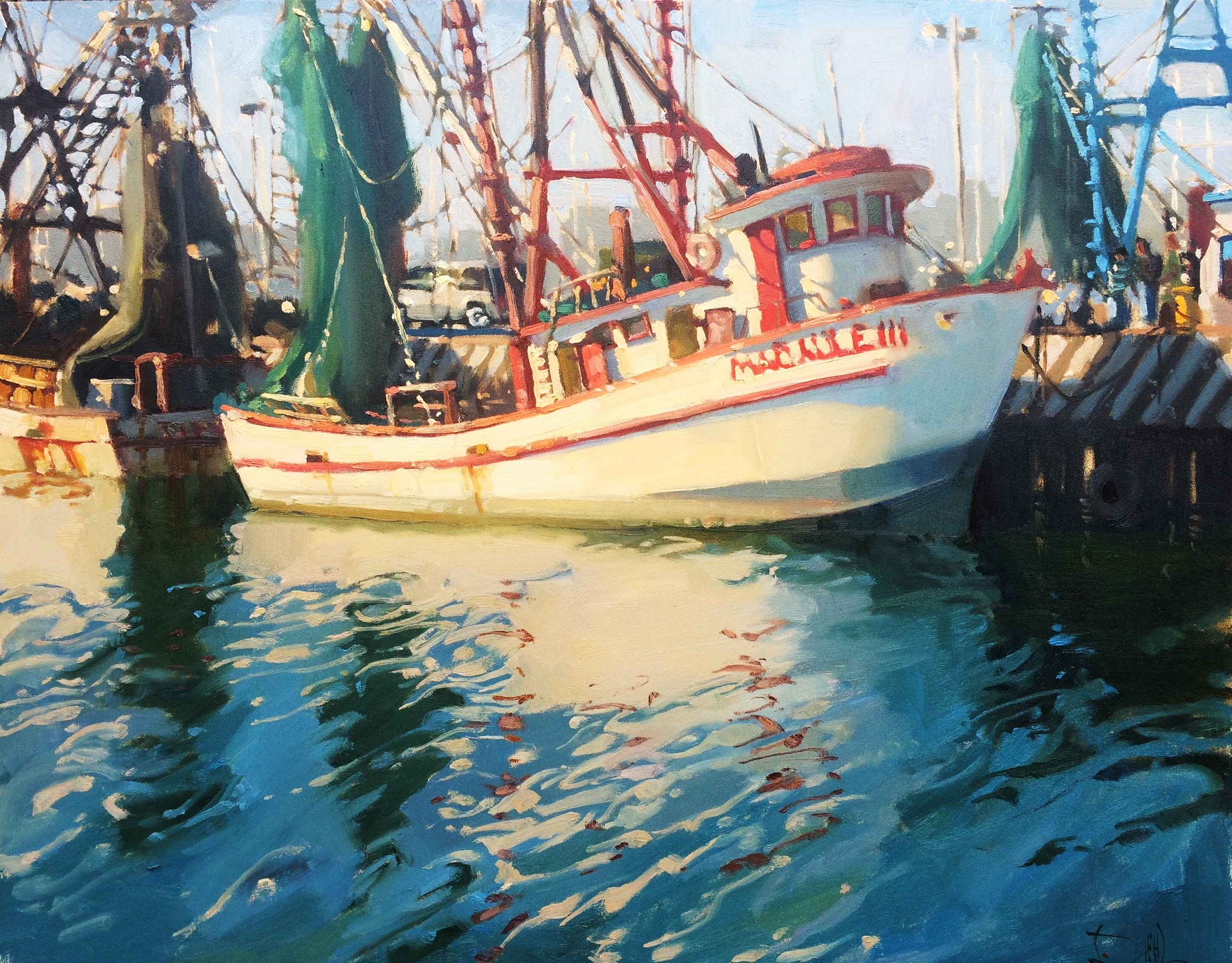 By the Docks  by  Jennifer Diehl