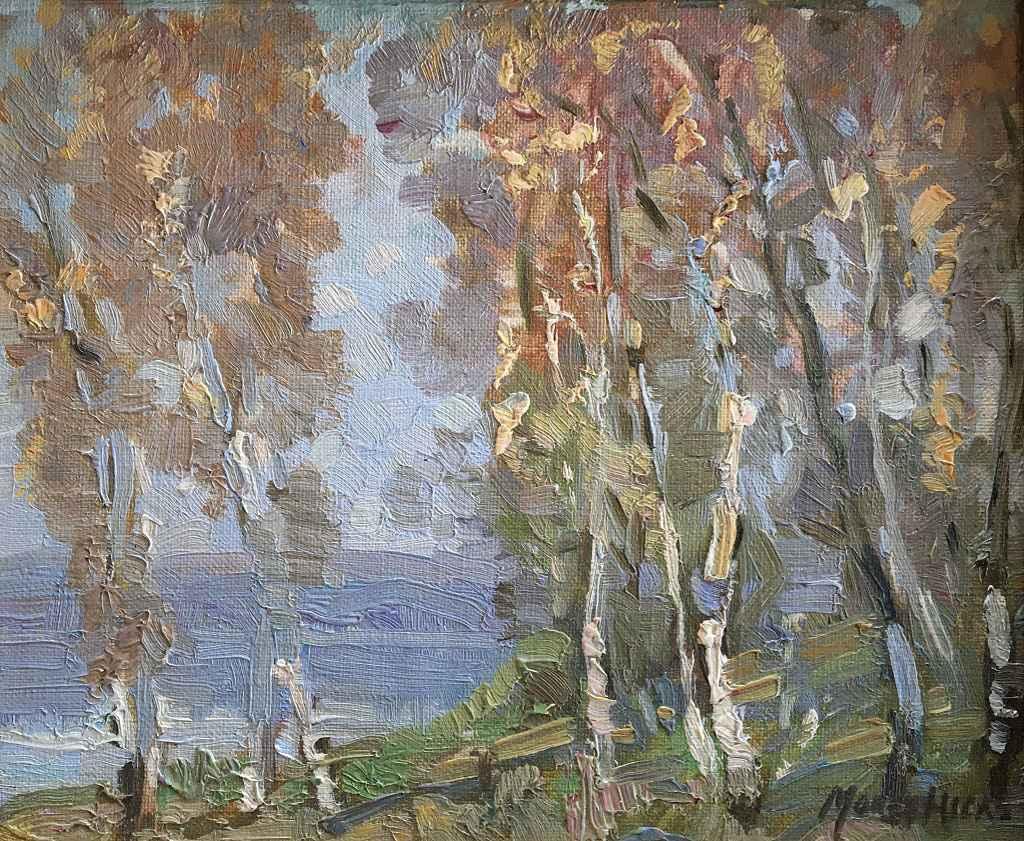 Untitled (Lake thru T... by Mr. Morley Hicks - Masterpiece Online
