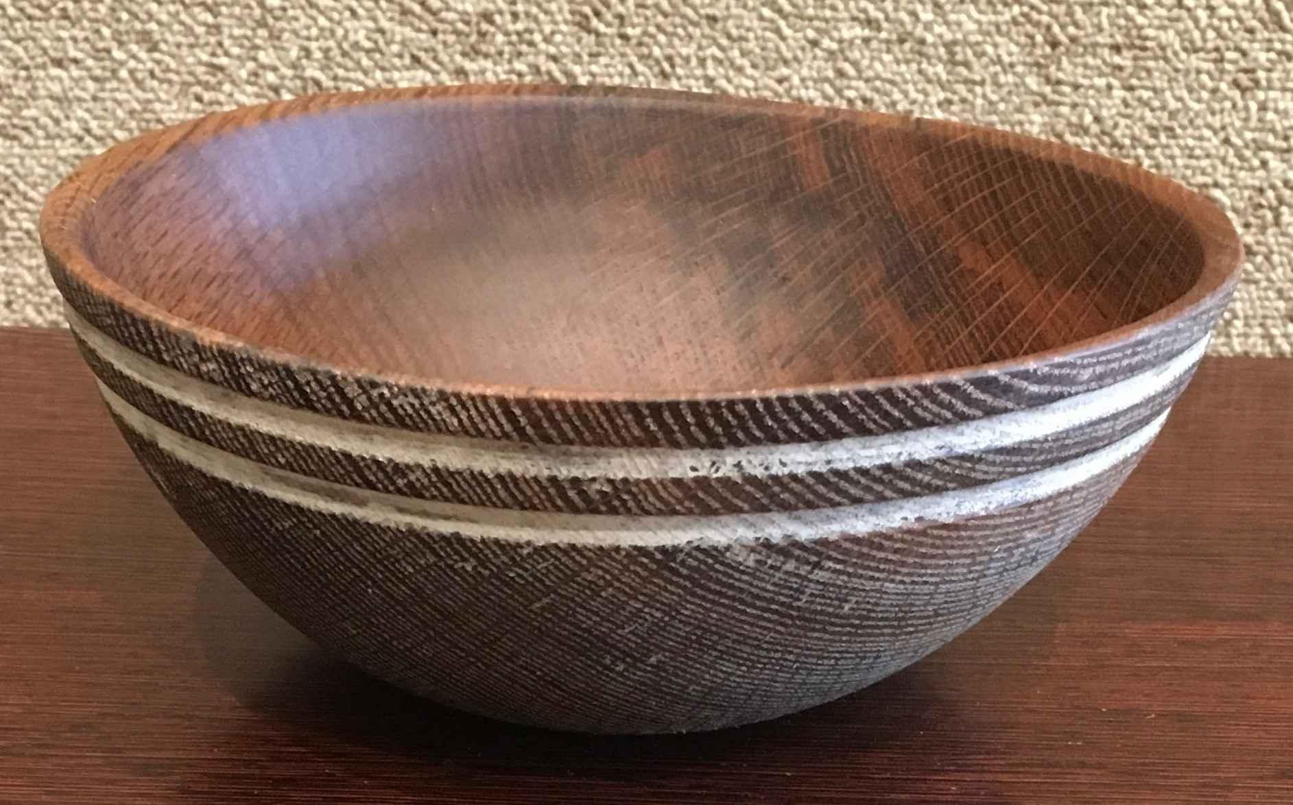 Oak Bowl #671 by Mr. Santiago Tolman - Masterpiece Online