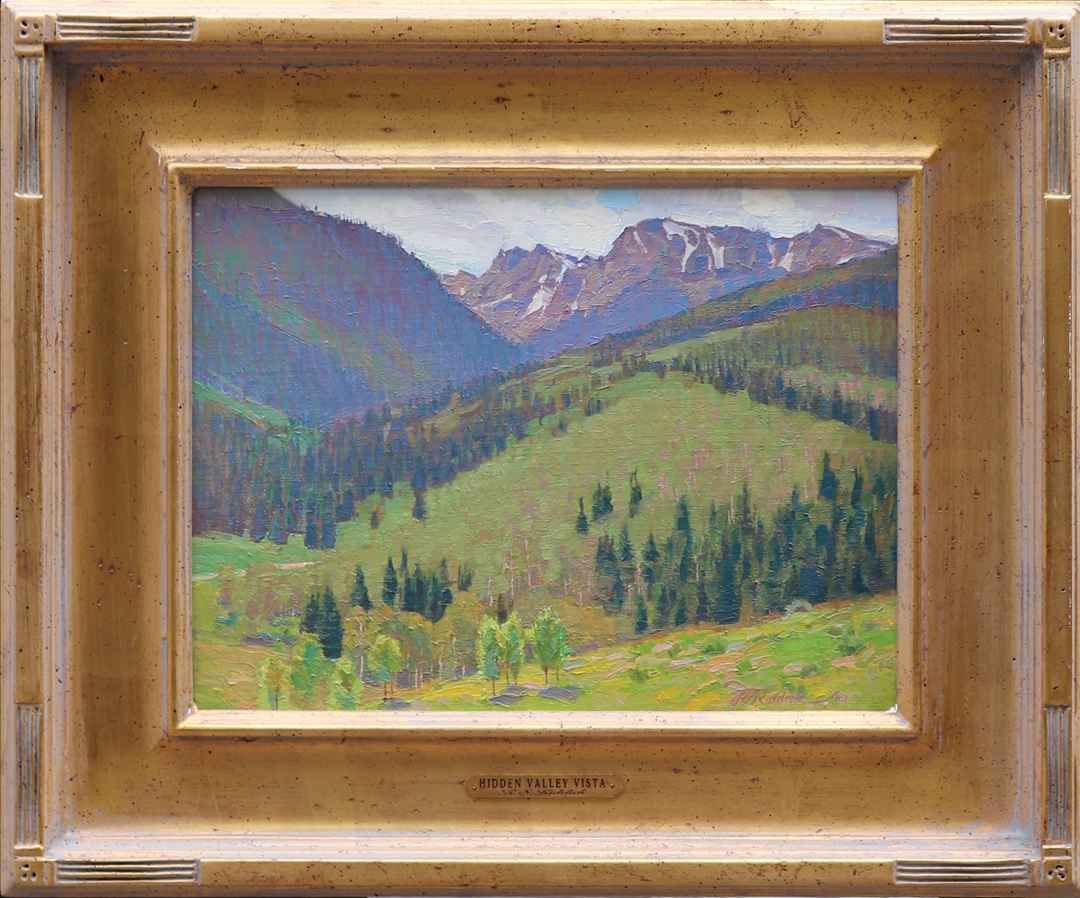 Hidden Valley Vista by Mr. & Mrs. R.S. Riddick - Masterpiece Online