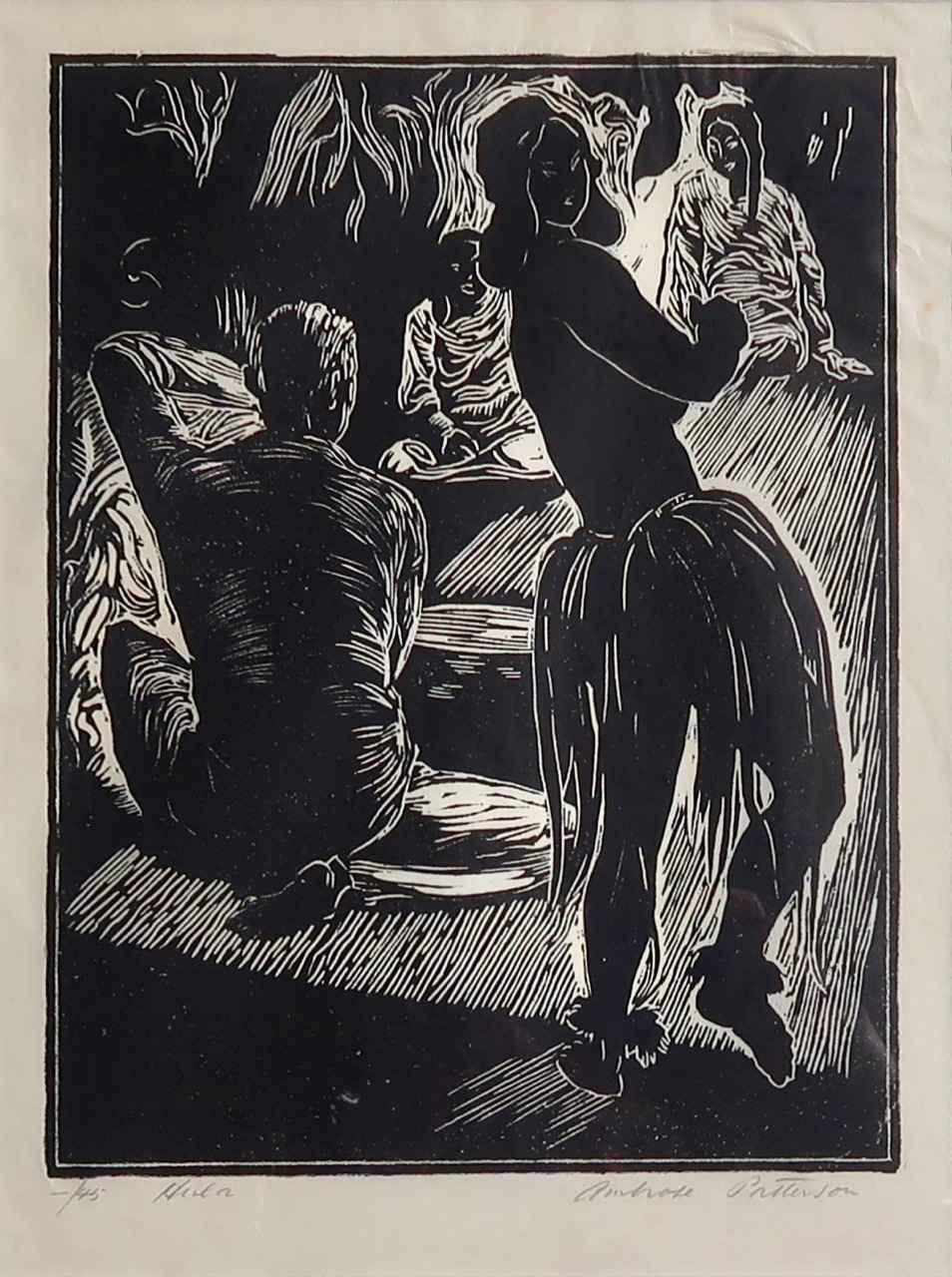Hula by  Ambrose Patterson (1877-1966) - Masterpiece Online