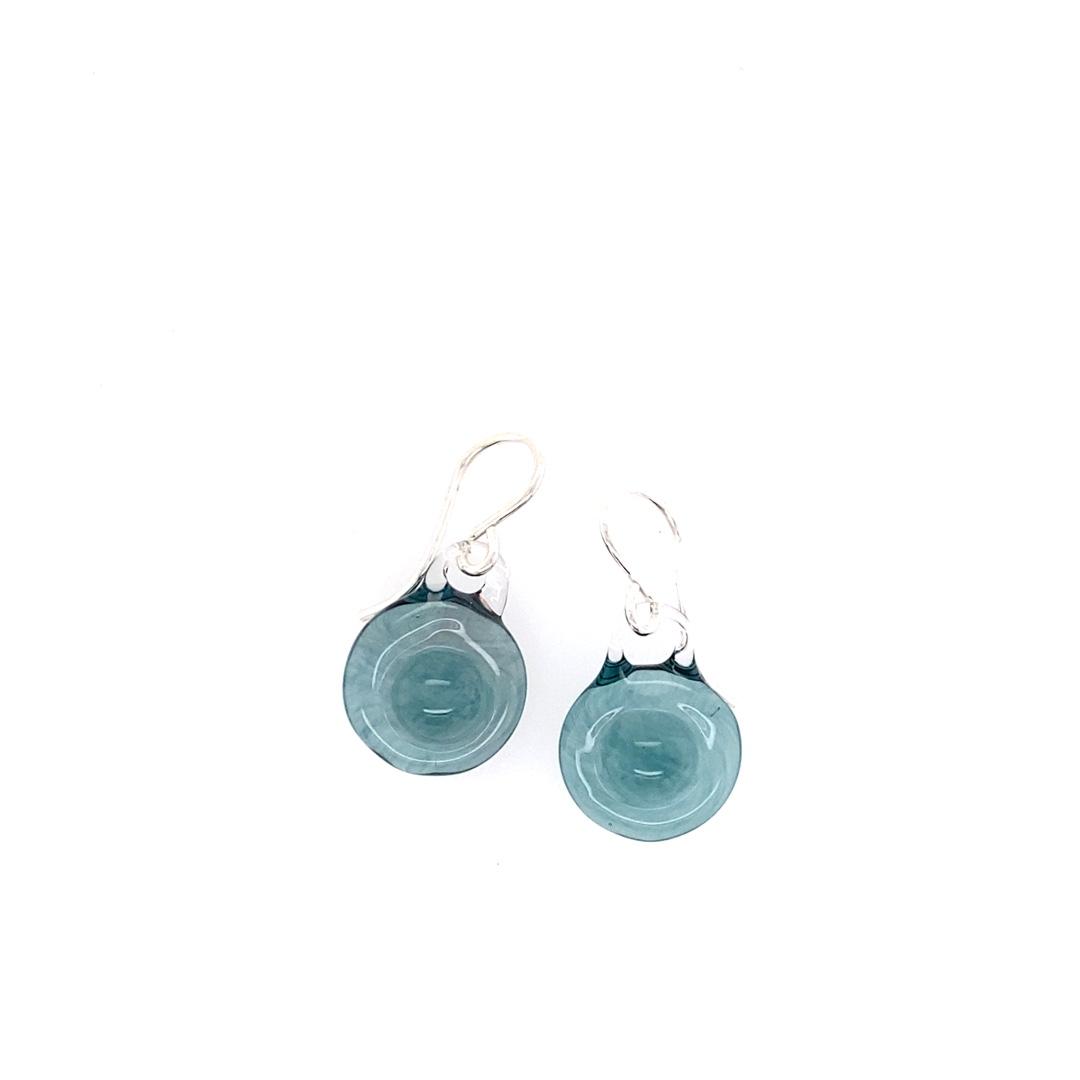 Glacier Saturn Earrings