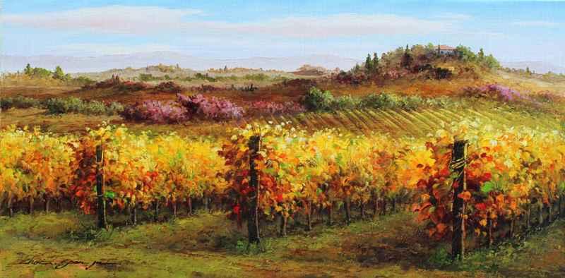 Vineyard View by  Soon Ju Choi  - Masterpiece Online