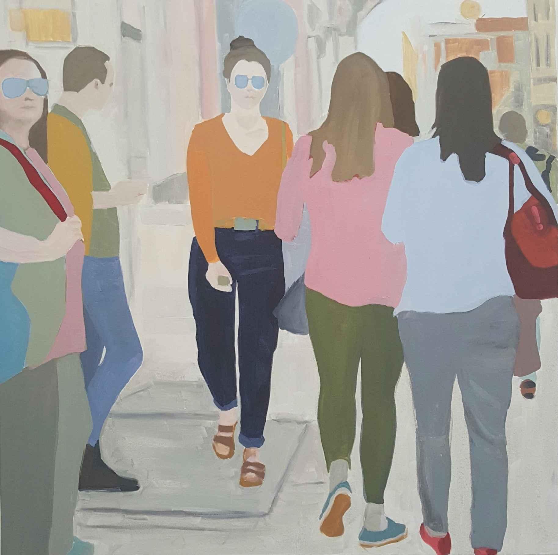 Passerby 1 by  Sherry Czekus - Masterpiece Online