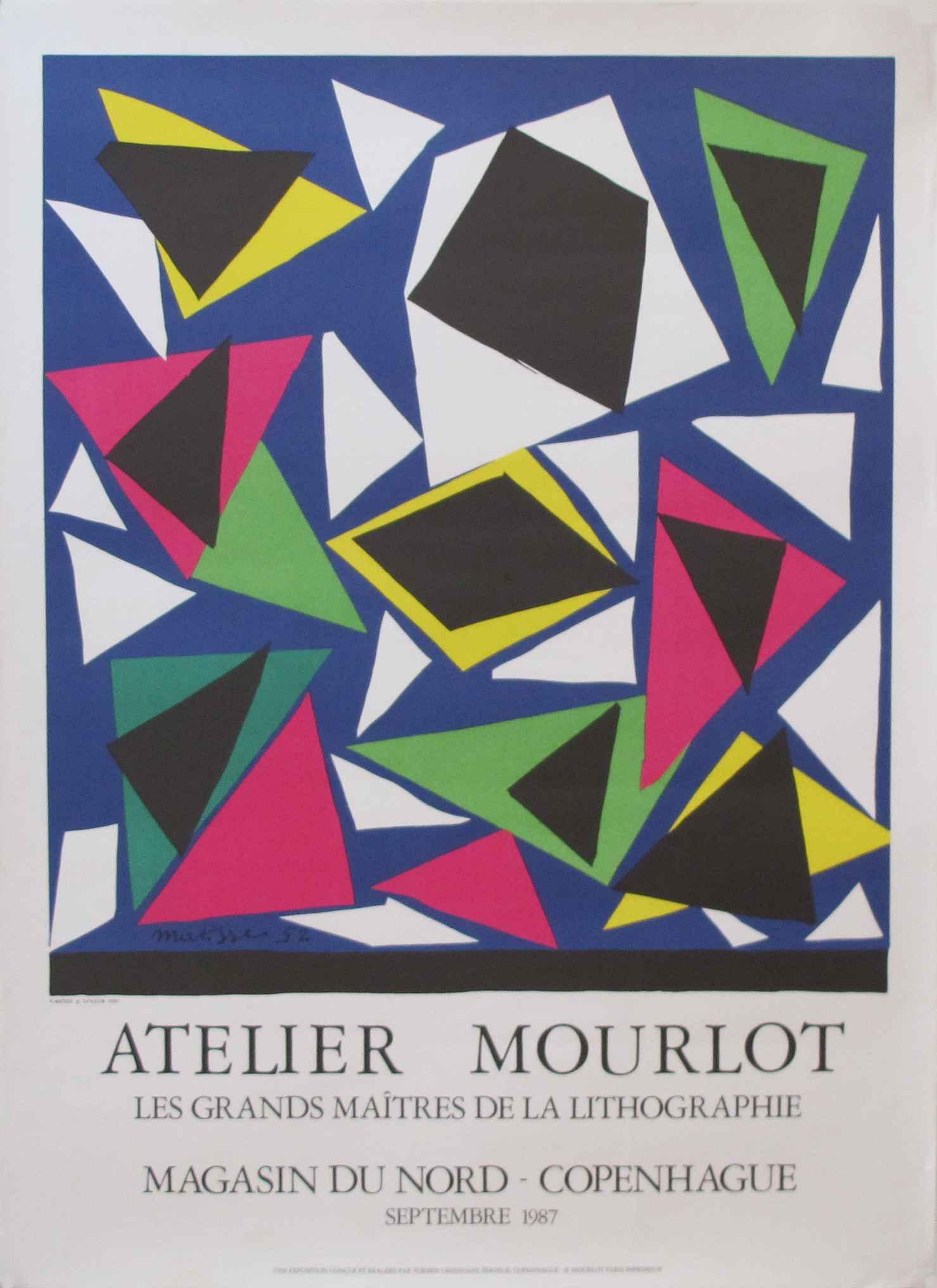 Atelier Mourlot - Les... by  Henri Matisse - Masterpiece Online