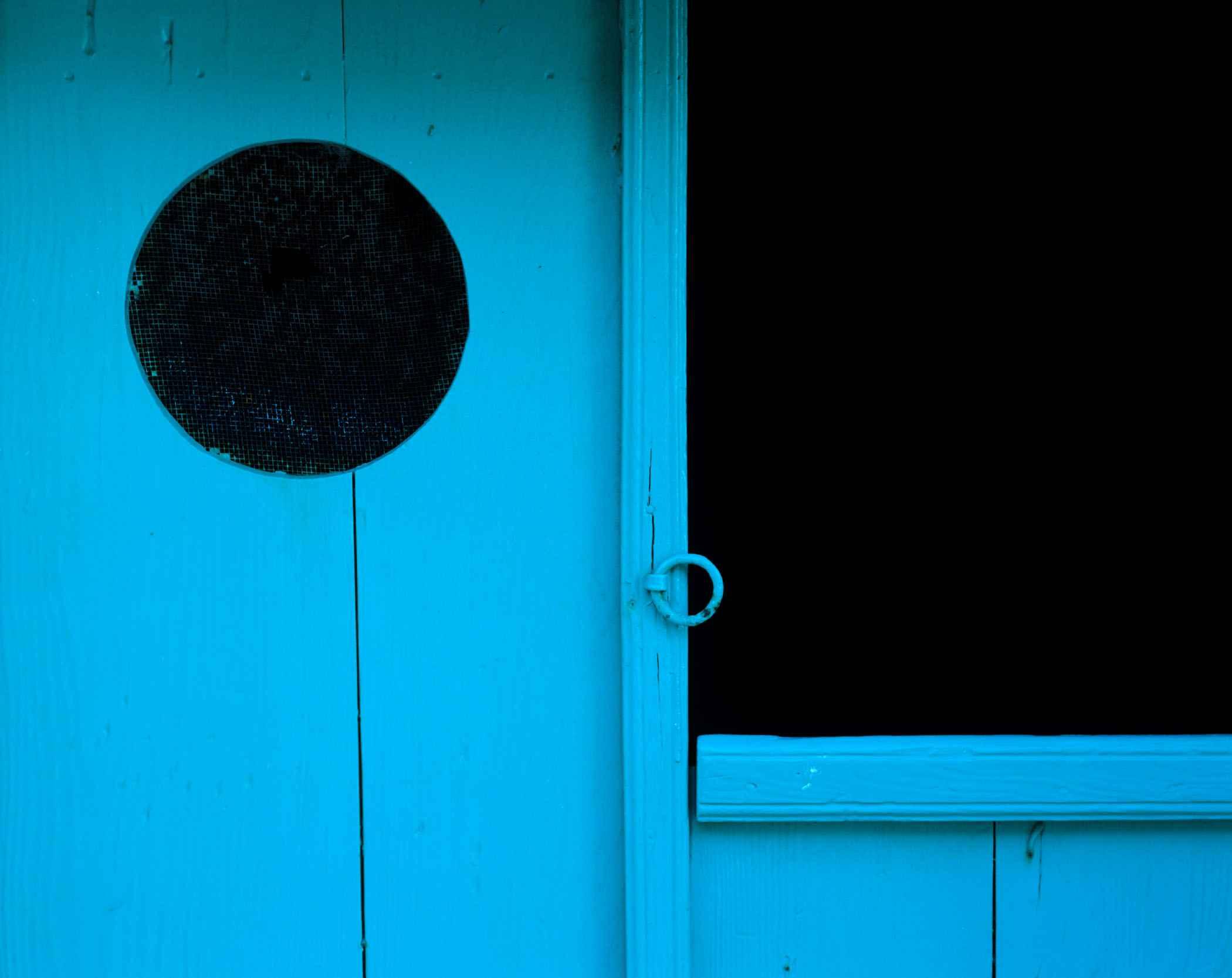 Turquoise Door, Lefke... by  Alison Shaw - Masterpiece Online