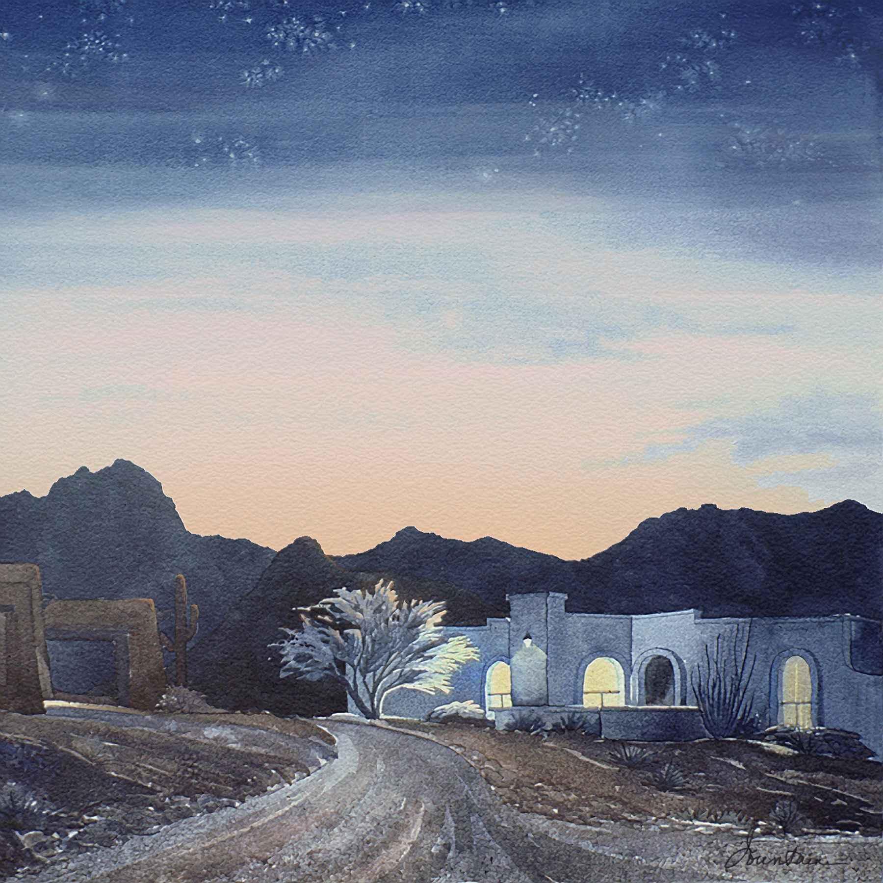 TWILIGHT by  Ellen Fountain - Masterpiece Online