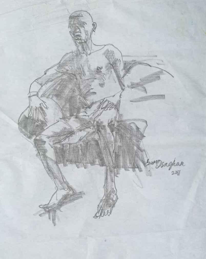 Sketch 2 by  Ben Osaghae - Masterpiece Online