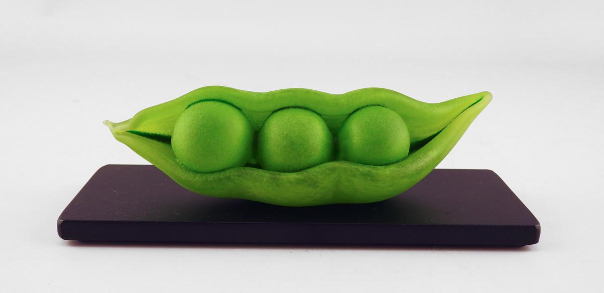 Reclining Pea Pod by  Jen Violette - Masterpiece Online
