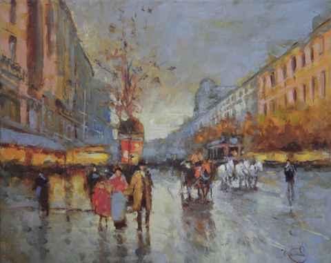 Evening Lights by  Vladimir  Nasonov  - Masterpiece Online