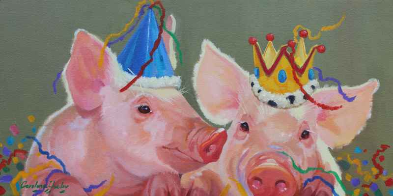 Lets Party by  Carolyne Hawley - Masterpiece Online
