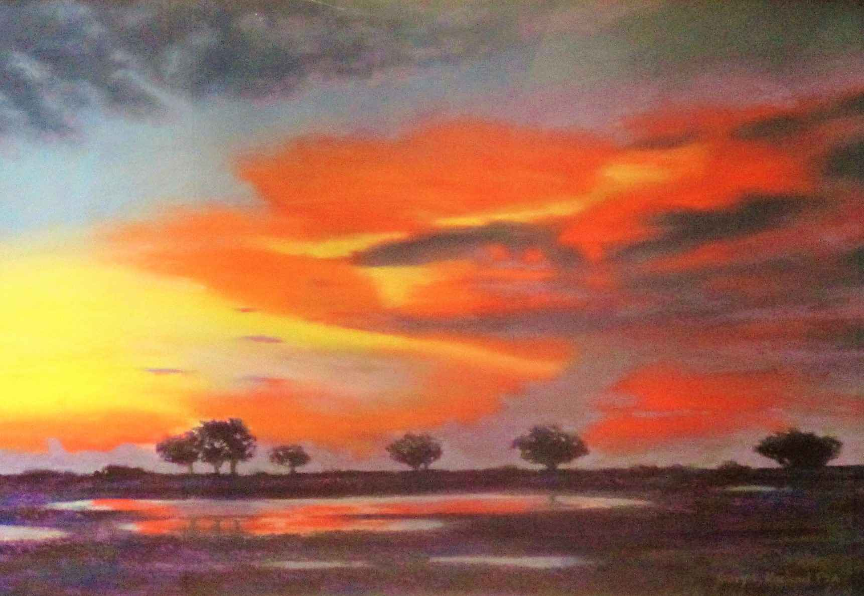 Unknown (Small trees) by  Gary Michael - Masterpiece Online