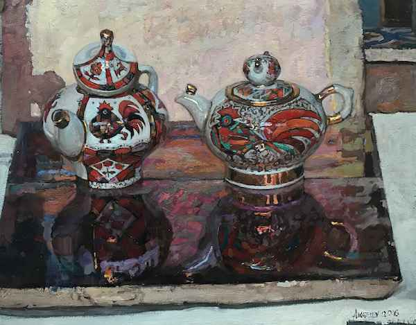 Russian Tea Party: Fi... by  Daud Akhriev - Masterpiece Online