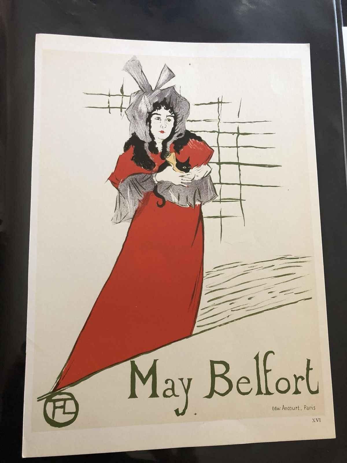 May Belfort by  Henri de Toulouse Lautrec - Masterpiece Online