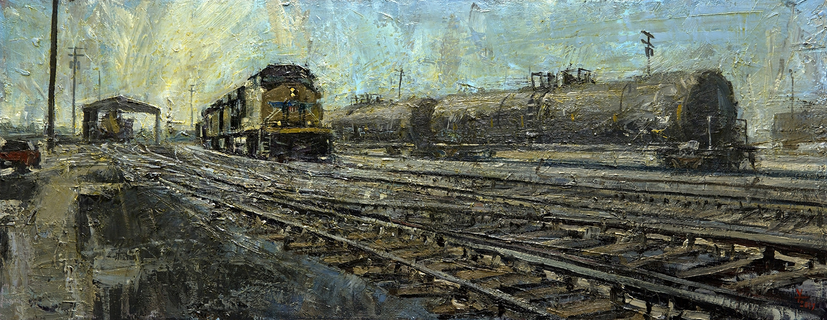 Union Pacific 030 by  Donald Yatomi - Masterpiece Online