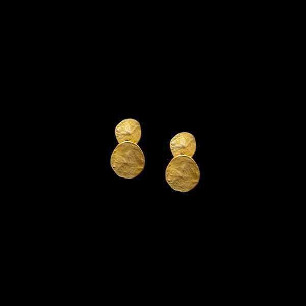 La Mer Double Drop Post Earrings