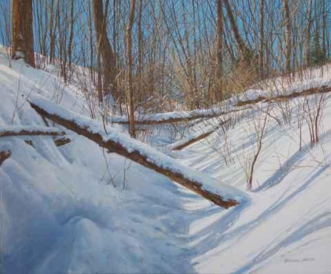 Little valley - Falle...  by  Michael Wheeler