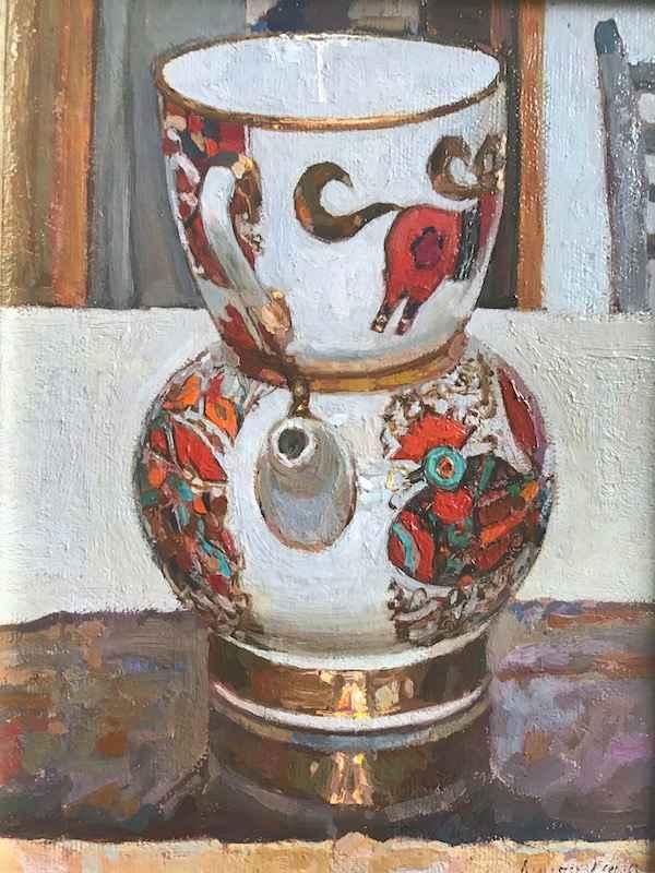 Russian Tea Party: St... by  Daud Akhriev - Masterpiece Online
