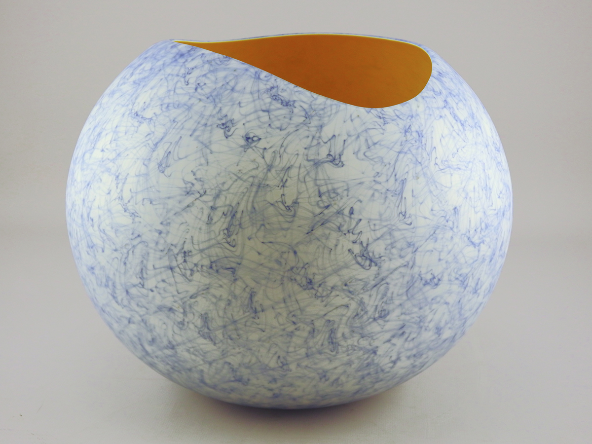 Merletto Vase/Canary by  Joshua Wojick - Masterpiece Online