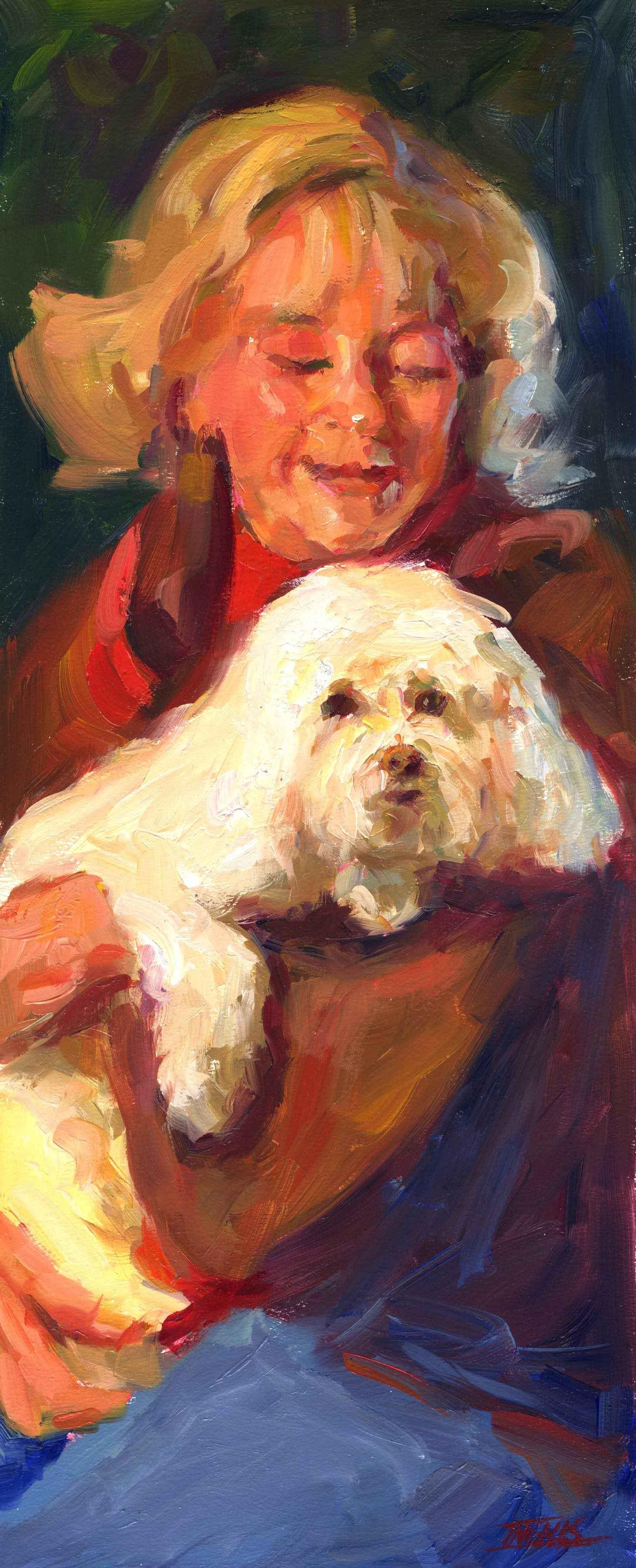 Paulette & Mia by  Pam Ingalls - Masterpiece Online