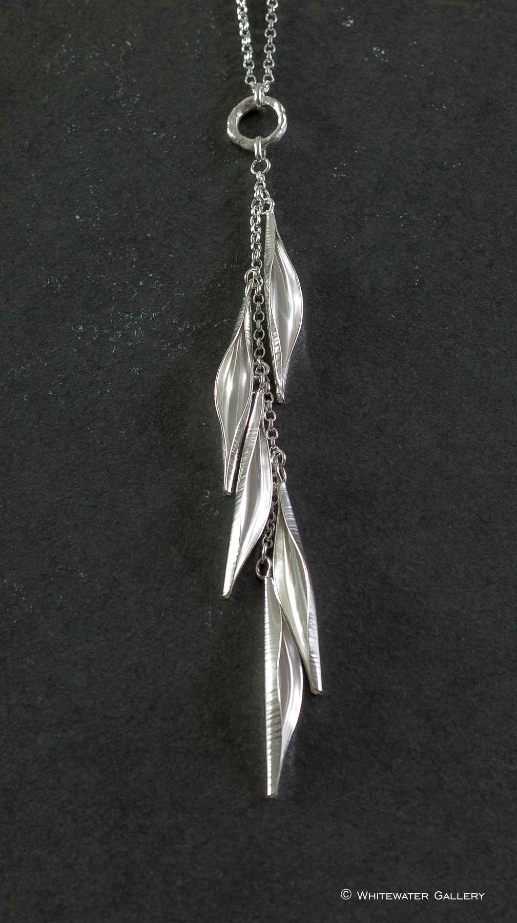 Pod Cascade Necklace ... by  Marsha Drew - Masterpiece Online