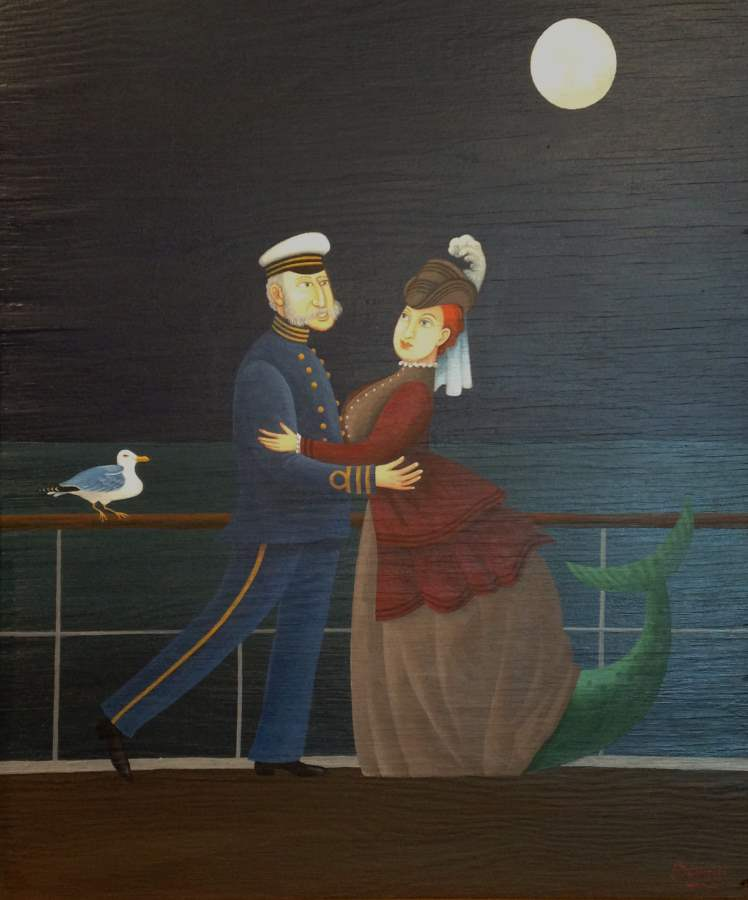 Sea Salt Waltz by  Barry Rockwell - Masterpiece Online