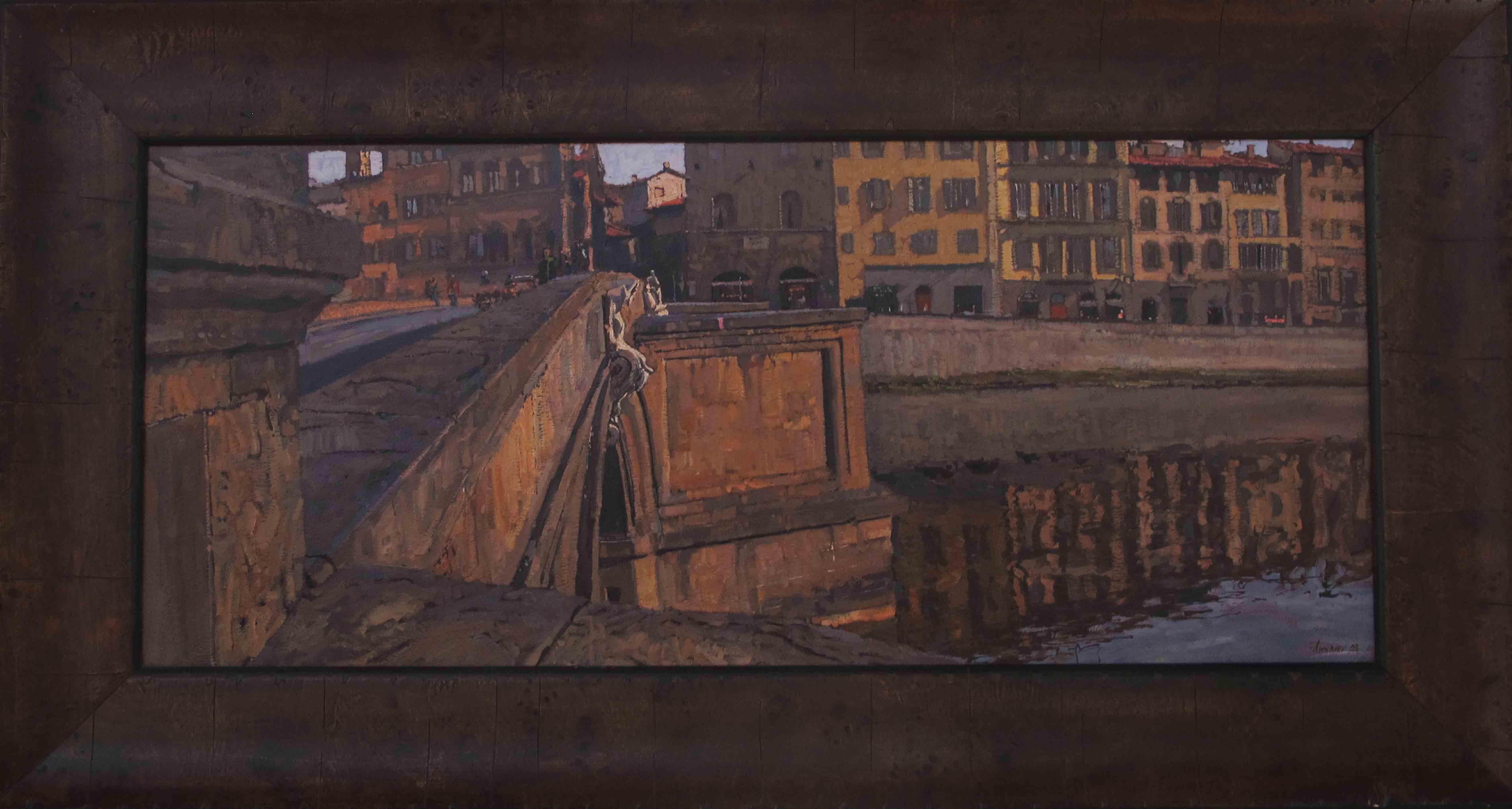 View Towards Ponte Tr... by  Daud Akhriev - Masterpiece Online