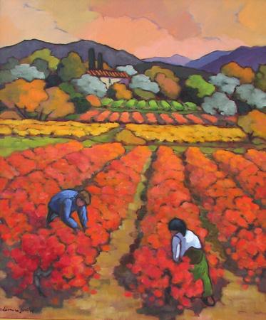 Dans les Vignes Rouge