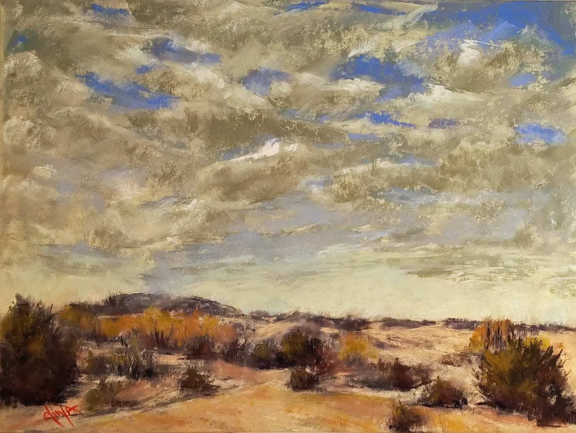 Texas Skies by Mrs Dina Gregory - Masterpiece Online