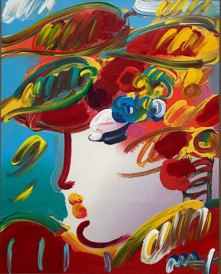 Peter Max - Beauty/Fa...  by  Resale Gallery