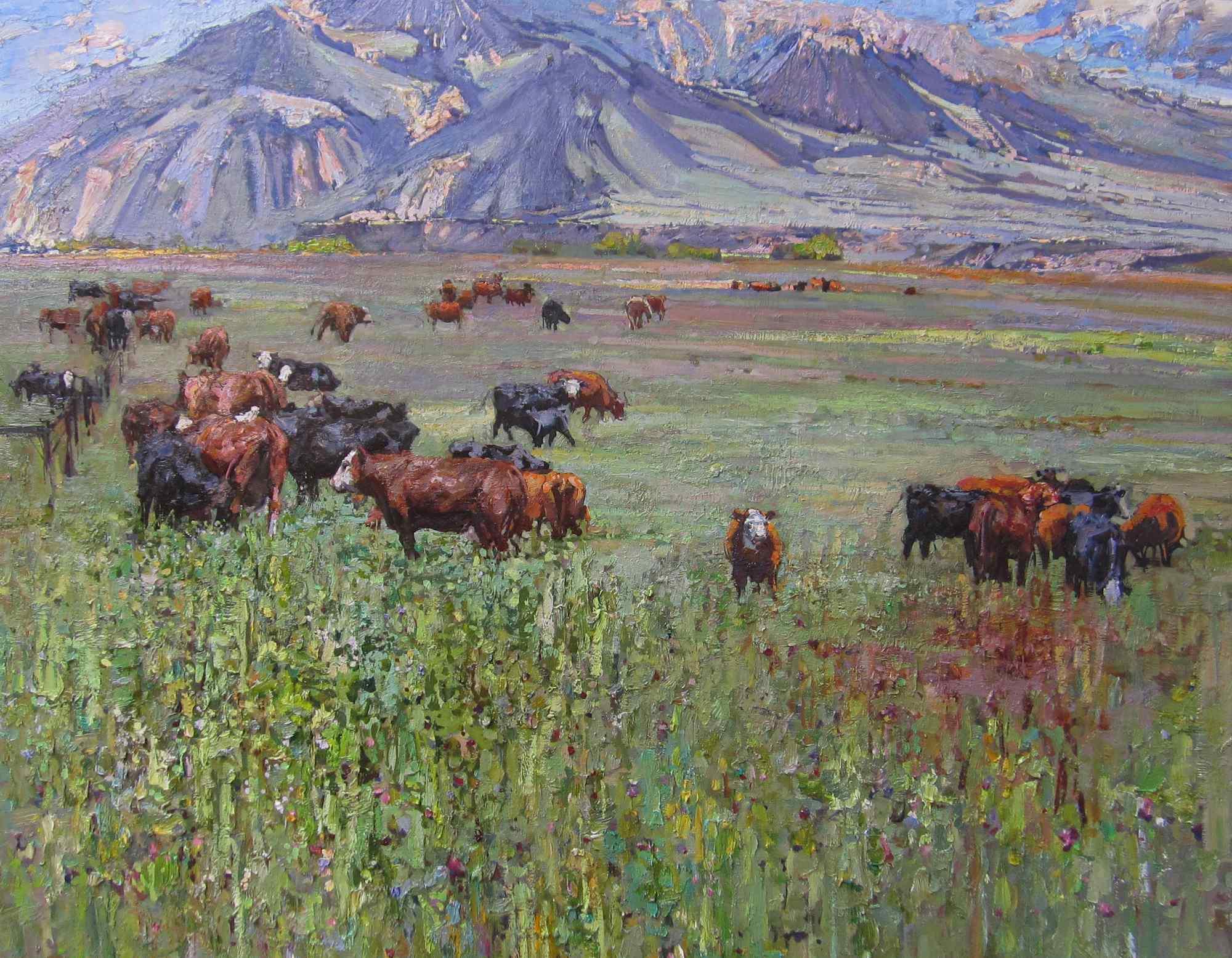 Herd by  Daud Akhriev - Masterpiece Online