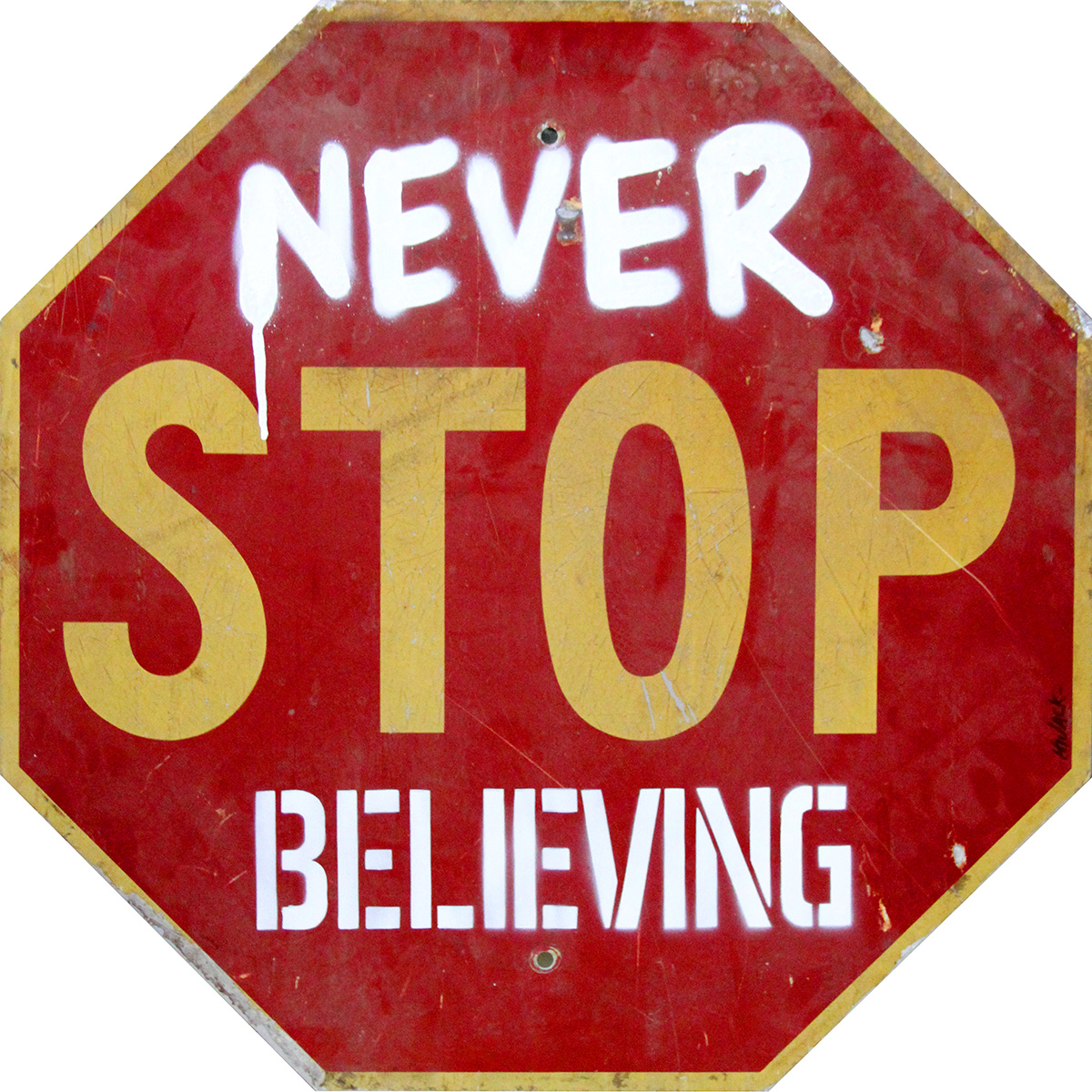 Never Stop Believing by  Hijack  - Masterpiece Online