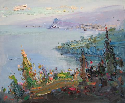 Morning on the Adriat...  by  Slava Korolenkov
