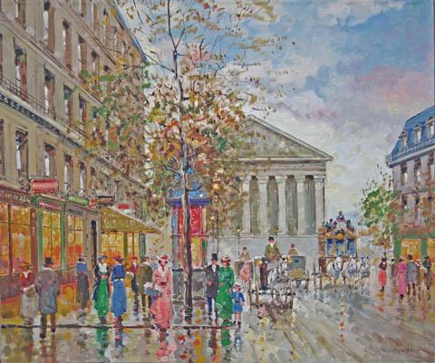 La Madeleine by   Dovijarski  - Masterpiece Online