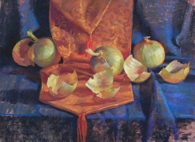 Onions Like Pearls by Ms Kathleen Cook - Masterpiece Online