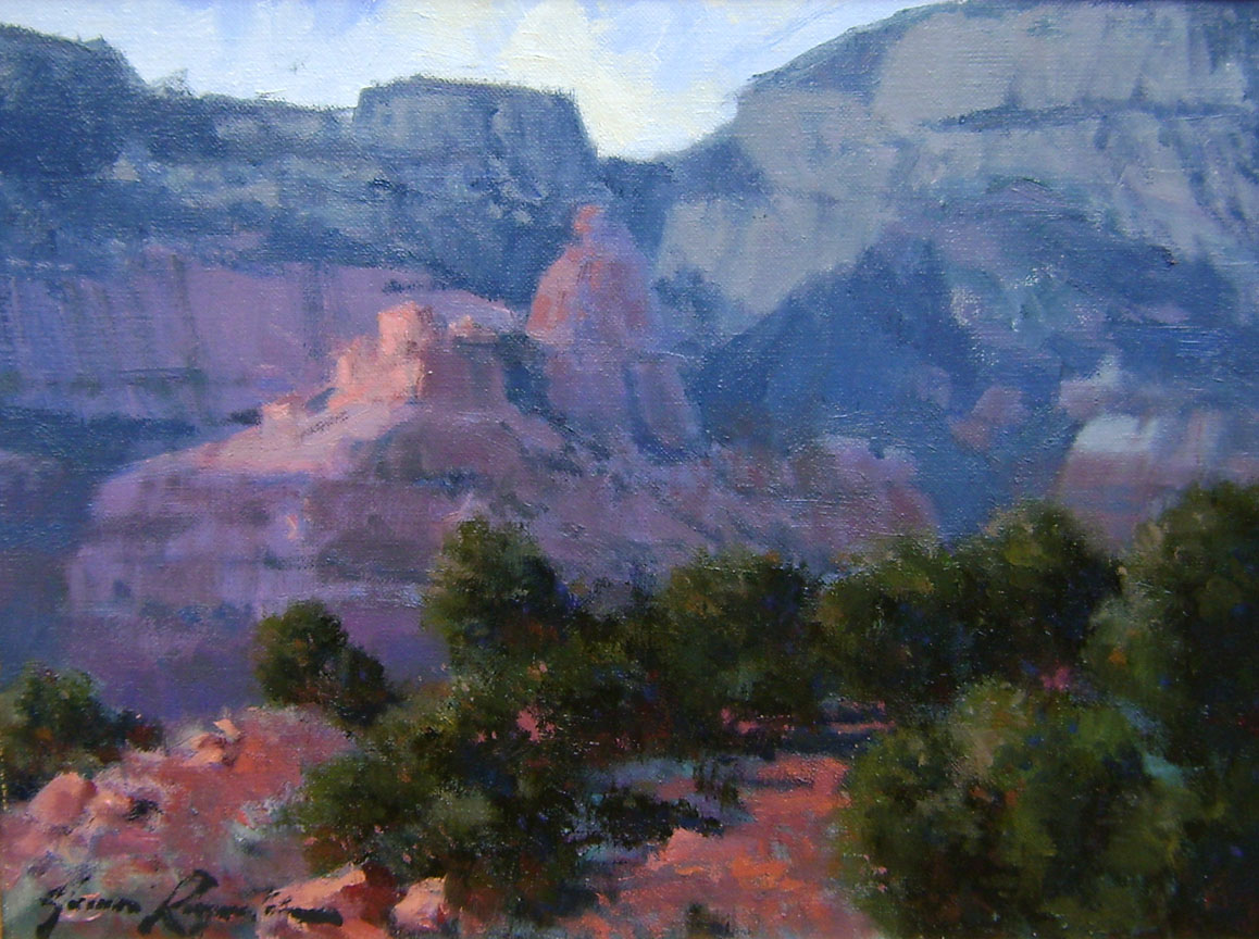 Sedona Canyons by Mr. James Reynolds - Masterpiece Online